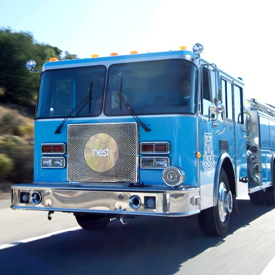 meet the nest fire truck