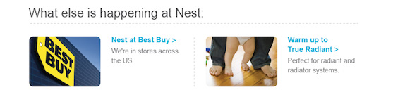 See what's new with the Nest Learning Thermostat and our company in the Nest Energy Report