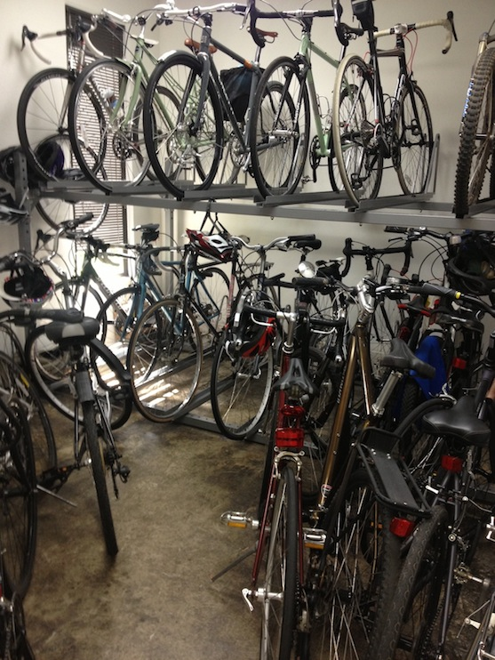 Nest bike room