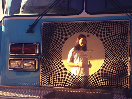 The Nest Firetruck: the latest in maternity-wear
