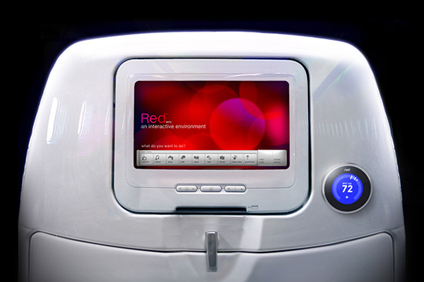 To start, each traveler will have a Nest to control their own personal cabin temperature.
