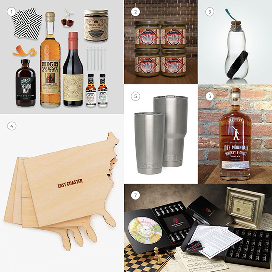 Gifts for drinkers.