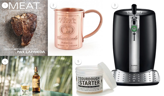 Gifts for lovers of fine food and drink.