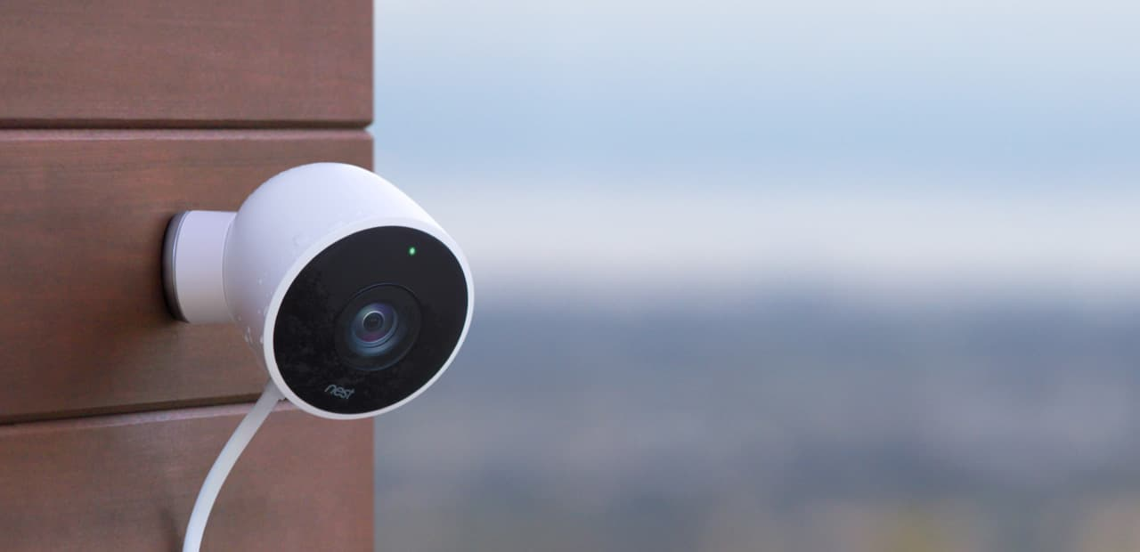 Image result for nest outdoor security camera