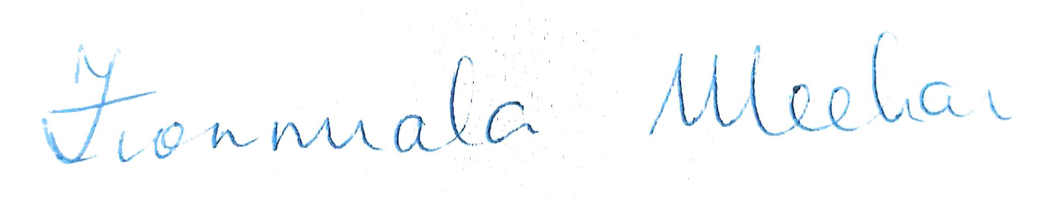 Fionnuala Meehan signature