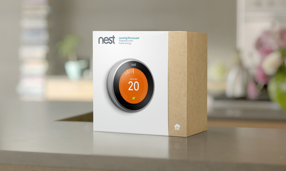 Nest Learning Thermostat Installation And Tech Specs T410 Electric Heat W Position Off Switch White Product