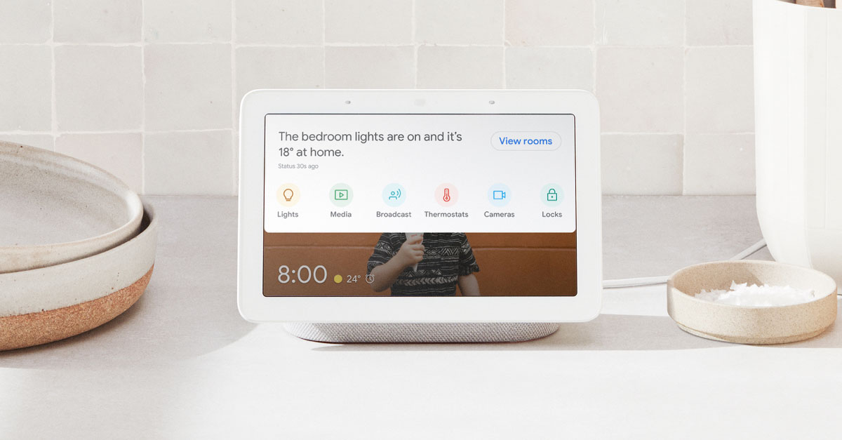 google home hub and nest products
