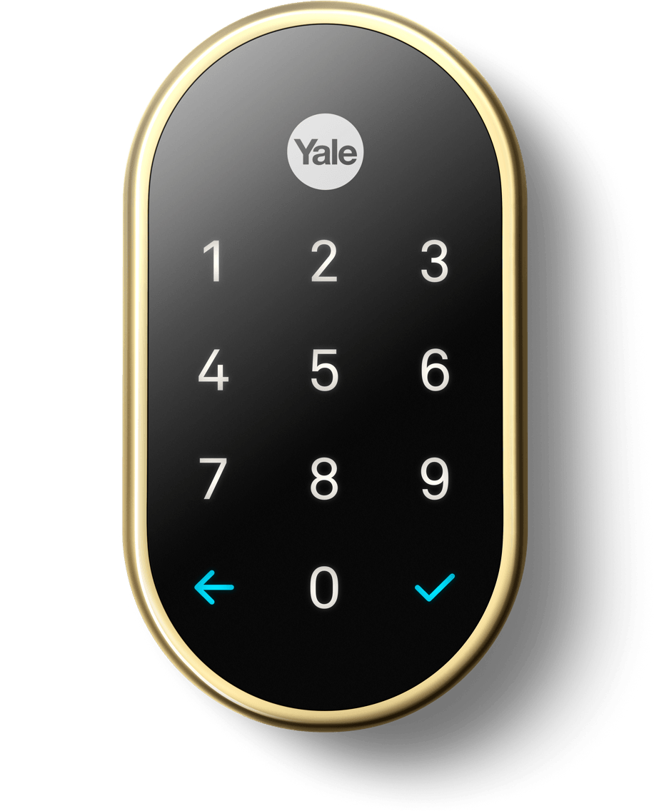 Nest x Yale Smart Lock with Nest Connect - Polished Brass