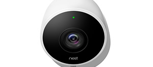 Nest Cam Outdoor - Vista frontale