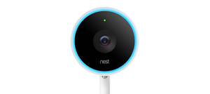 Nest Cam IQ front with glow