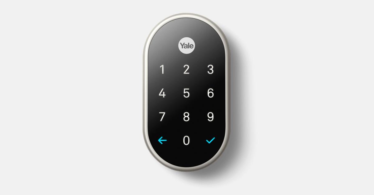 How To Unlock A Door >> Nest × Yale Lock | Key-Free Smart Deadbolt | Nest