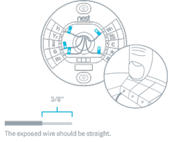 the nest thermostat can t detect wires that are installed rh nest com Nest Thermostat Heat Pump Wiring Diagram Nest Thermostat Wiring Diagram 4 Wire