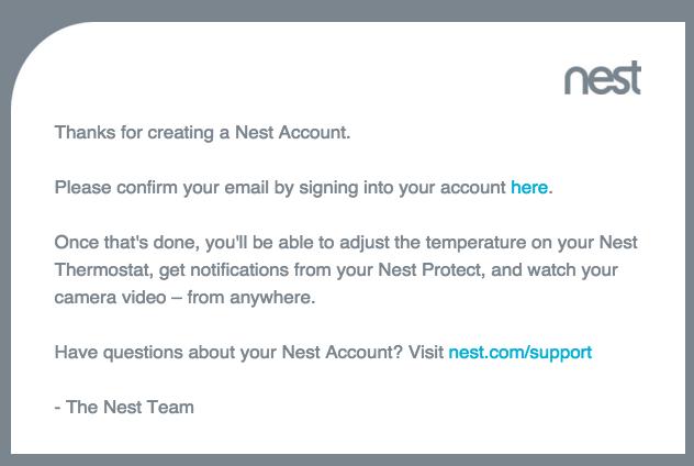 how to delete nest account