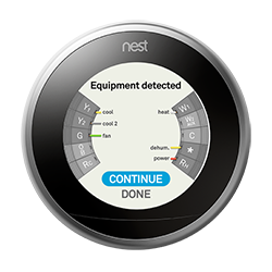 how to use nest heat cool mode