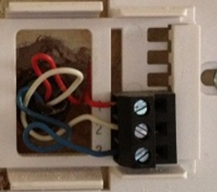 If you see wires in your thermostat's connector that have non-standard labels (for instance 1,2,3, or A, B, C) your system is proprietary.