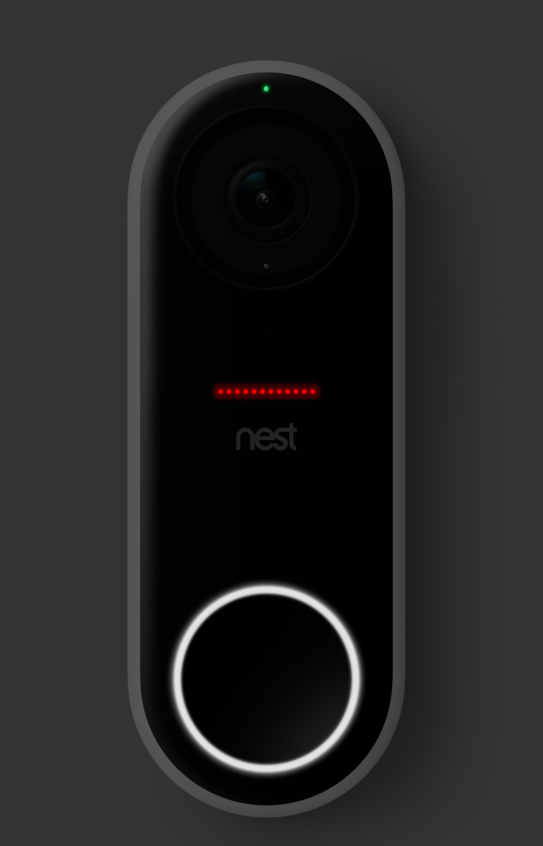 Learn About Nest Camera Lights And Sounds How To Change Settings Electricslightingproblemsblackswlive Red Above Doorbell Button