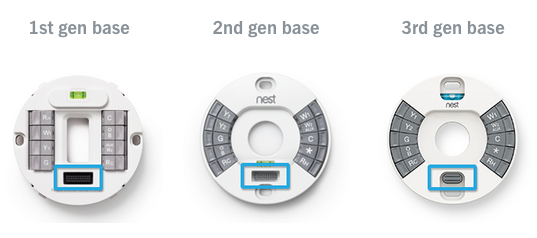 1st generation nest wiring diagram 1st wiring diagrams swapping displays and bases between nest learning thermostat