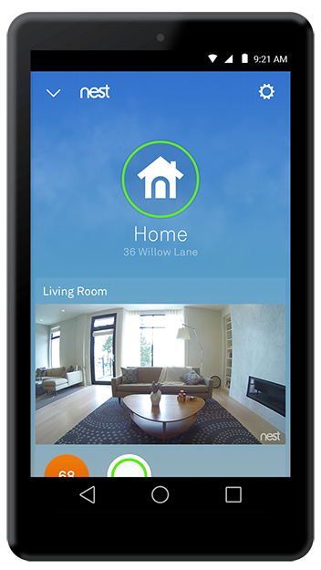 Learn more about the Spaces view in the Nest app and how to change