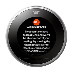 How do I set up a Nest Thermostat to a new router/wi-fi password