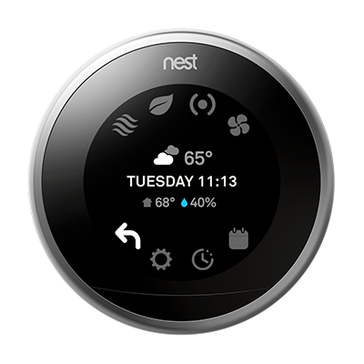 learn about nest thermostat settings and how to change them. Black Bedroom Furniture Sets. Home Design Ideas