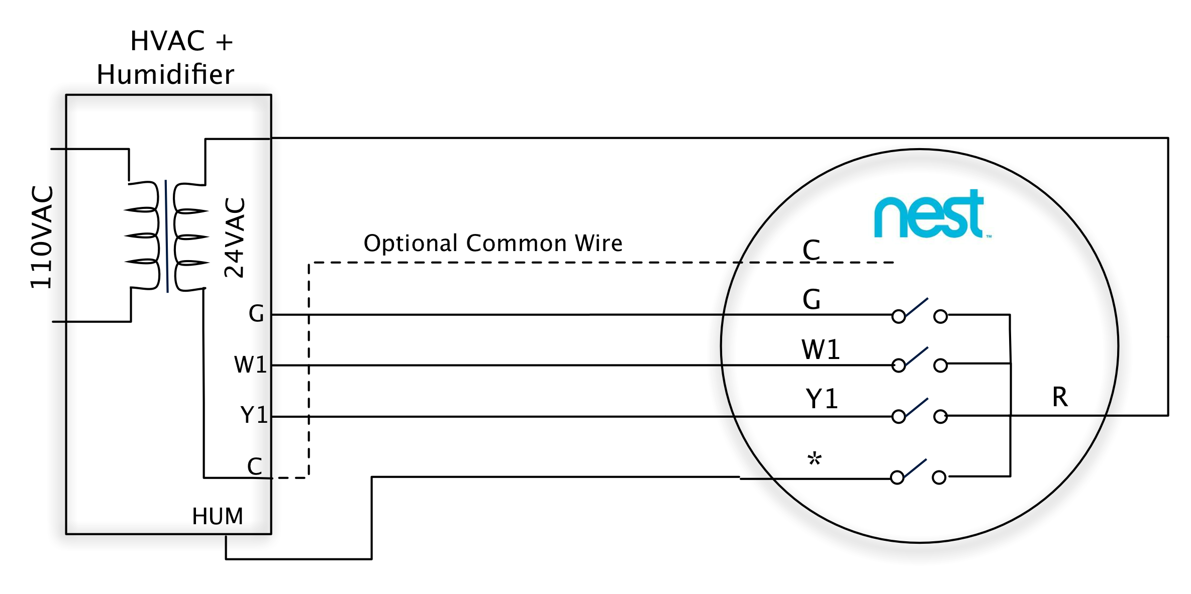 wiring diagram for a nest thermostat wiring wiring diagrams back to