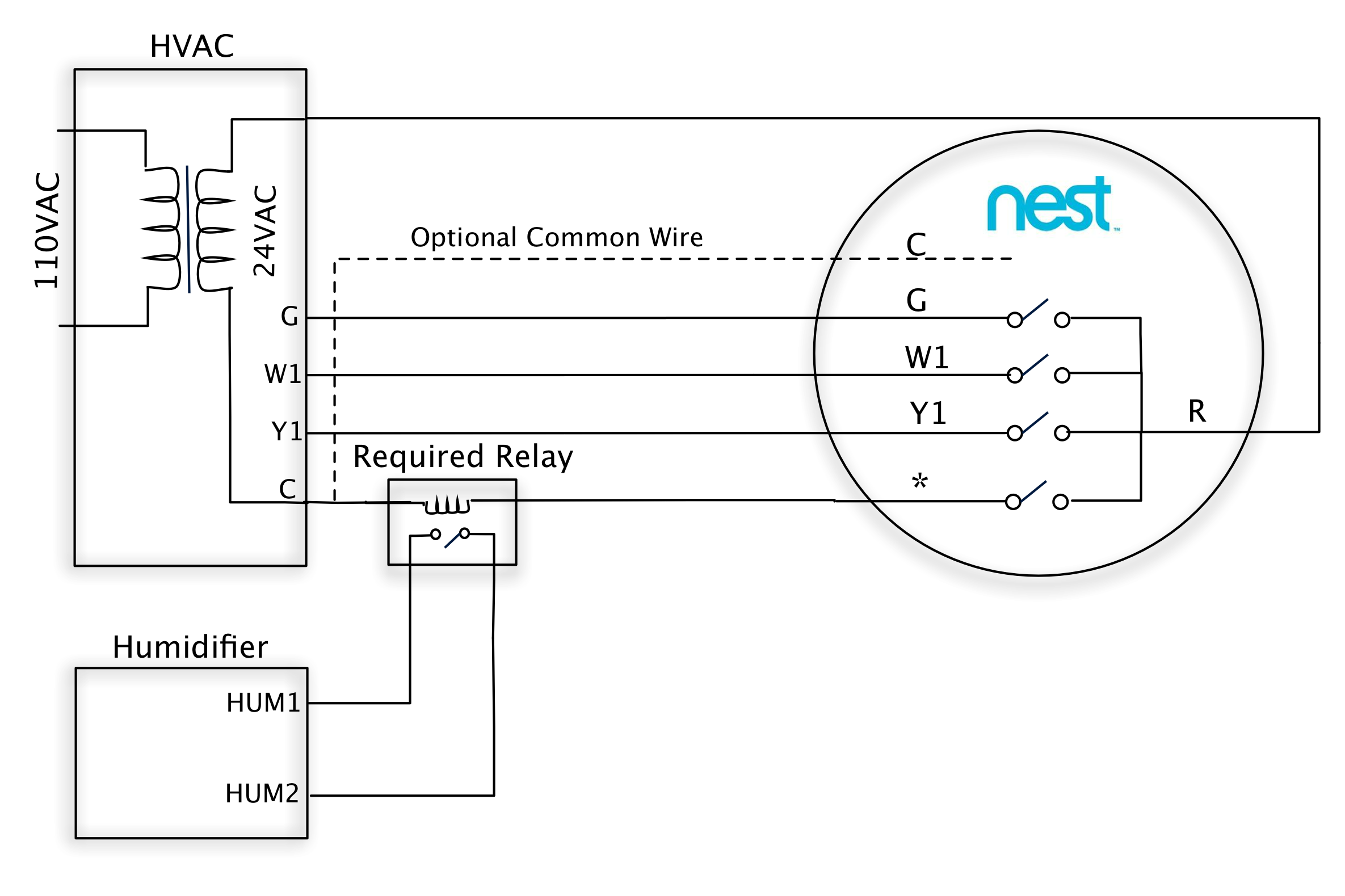 Nest Learning Thermostat Advanced Installation And Setup Help For Relay Terminal Wiring Professional Installers