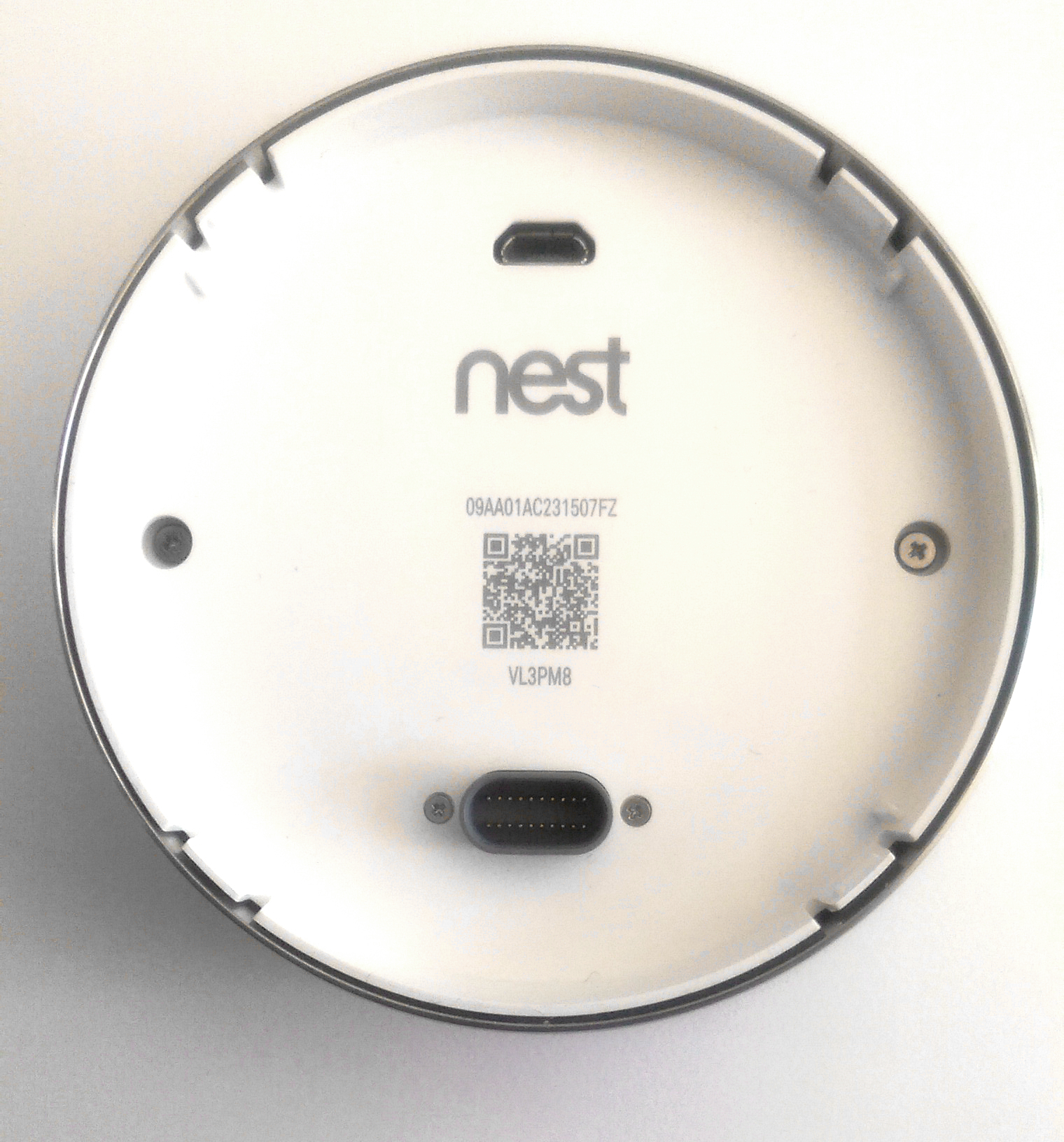 Nest Learning Thermostat Advanced Installation And Setup Help For Heat Pump Wiring Guide You Can Also Find The Serial Number By Going To Settings Technical Info Display On