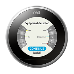 nest thermostat c wire present how to set up your nest thermostat nest wiring diagrams at bayanpartner.co