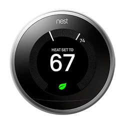 learn more about icons on the nest thermostat